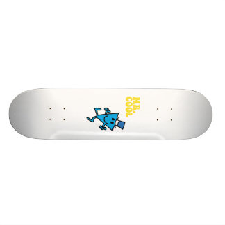 Mr. Cool | Yellow Lettering Skateboard Decks