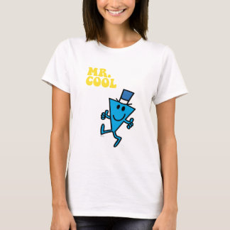 Mr. Cool | Yellow Lettering T-Shirt