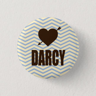 Mr. Darcy Heart Arrow pin Little Literary Classics