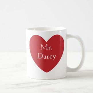 Mr. Darcy Classic White Coffee Mug