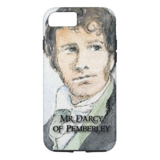 Mr Darcy of Pemberley iPhone 8/7 Case