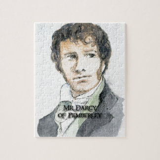 Mr Darcy of Pemberley Jigsaw Puzzle