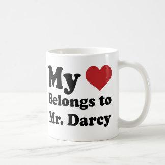 Mr. Darcy quote Jane Austen Mug Gift