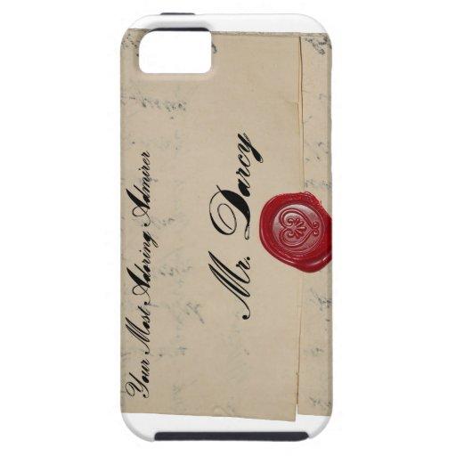 Mr Darcy Regency Era Letter iPhone 5/5S Case