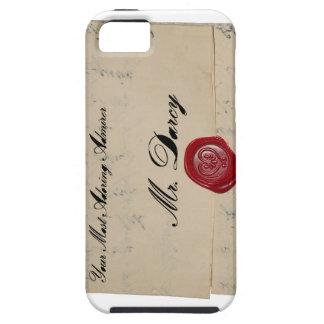 Mr Darcy Regency Era Letter iPhone 5 Cases