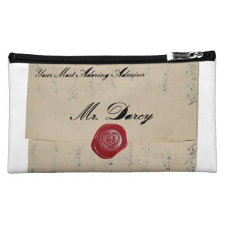 Mr Darcy Regency Love Letter Cosmetic Bags