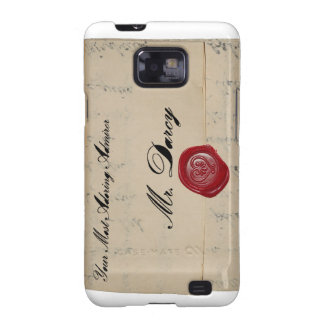 Mr Darcy Regency Love Letter Samsung Galaxy SII Cover