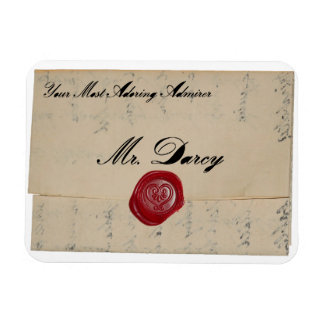Mr Darcy Regency Love Letter Magnets