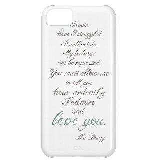 Mr. Darcy to Elizabeth Bennet... iPhone 5C Cases