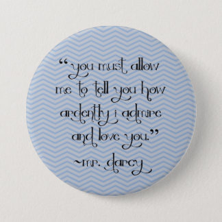 Mr. Darcy's proposal chevron button