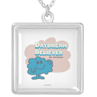 Mr. Daydream Believer Silver Plated Necklace