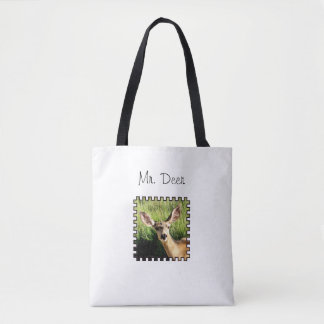 Mr. Deer Tote Bag