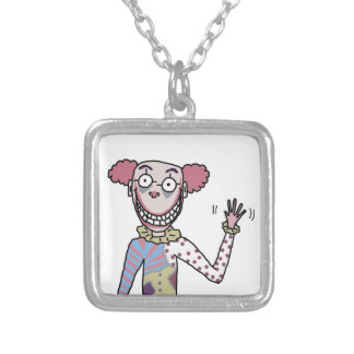 Mr. Dingles Silver Plated Necklace