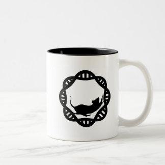 Mr. DNA Two-Tone Coffee Mug