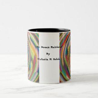 """Mr. Dove's Rainbow""..Mug Two-Tone Mug"
