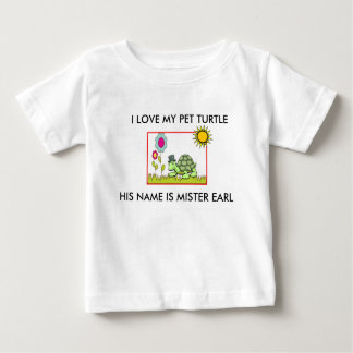 """""""MR. EARL"""" TODDLER'S TURTLE T-SHIRT"""