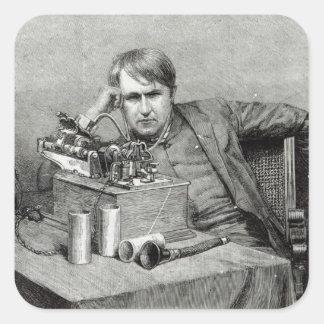 Mr.Edison's New Phonograph Stickers
