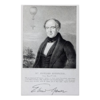 Mr. Edward Spencer, lithograph by Day & Haghe Poster