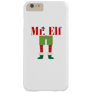 Mr. Elf Matching Couple Christmas Barely There iPhone 6 Plus Case