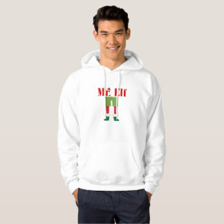 Mr. Elf Matching Couple Christmas Hoodie