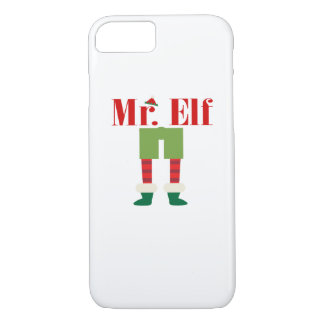 Mr. Elf Matching Couple Christmas iPhone 8/7 Case