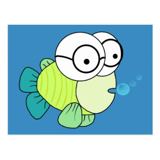 Mr Fish Postcard