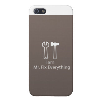 Mr. Fix Everything Case For The iPhone 5