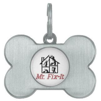 Mr. Fix-it Pet Tag