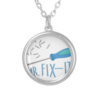 Mr Fix-it Silver Plated Necklace