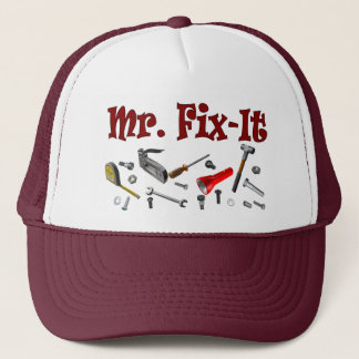mr. fix-it trucker hat