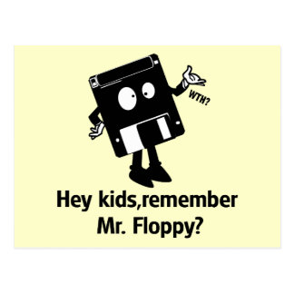 Mr Floppy Postcard