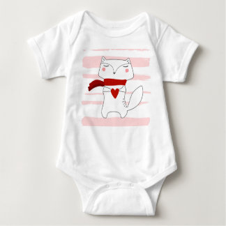 Mr. Fox Baby Bodysuit