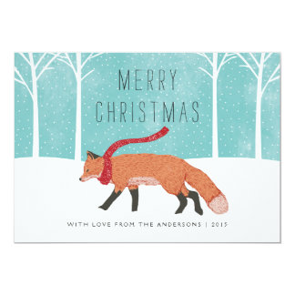 Mr. Fox Card