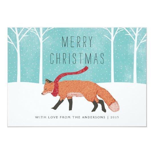 Mr. Fox Card