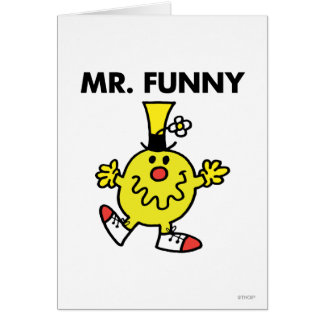 Mr Funny Classic 2 Greeting Cards