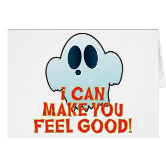 Mr Ghosty Feel Good Greeting Card