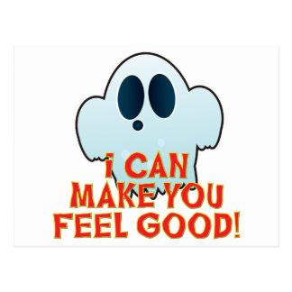 Mr Ghosty Feel Good Postcard