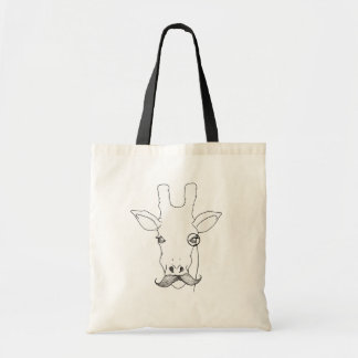 Mr. Giraffe Tote Bag