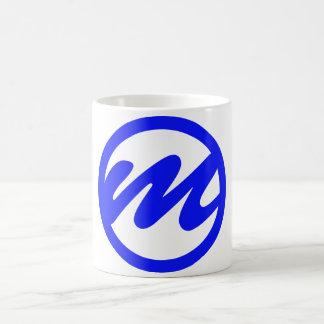 MR. Glas Classic White Coffee Mug