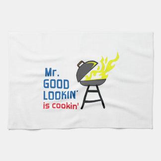 MR GOOD LOOKIN IS COOKIN KITCHEN TOWEL