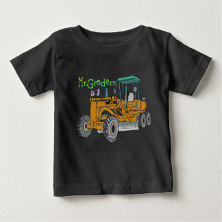 Mr.Gradern construction vehicle motor grader the Baby T-Shirt