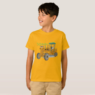 Mr.Gradern construction vehicle motor grader the T-Shirt