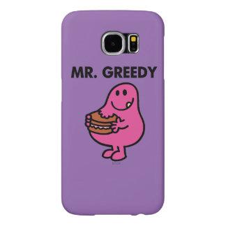 Mr. Greedy Eating Cake Samsung Galaxy S6 Cases