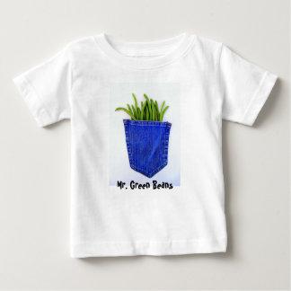 Mr. Green Beans Baby T-Shirt