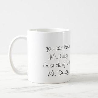 Mr. Grey vs. Mr. Darcy - mug