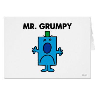 Mr Grumpy Classic Card