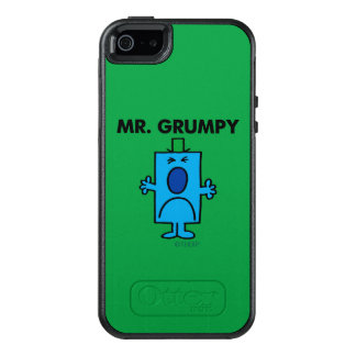 Mr. Grumpy | Frowning Face OtterBox iPhone 5/5s/SE Case