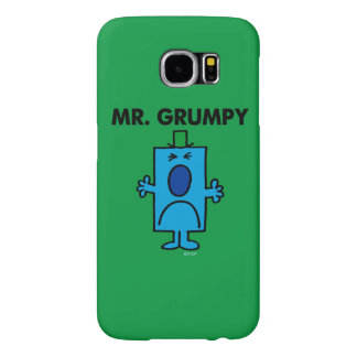 Mr. Grumpy | Frowning Face Samsung Galaxy S6 Cases