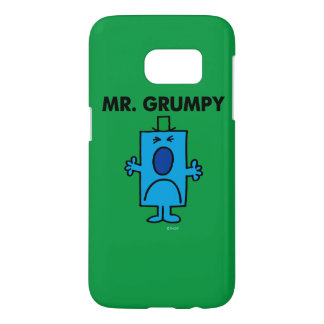 Mr. Grumpy | Frowning Face Samsung Galaxy S7 Case