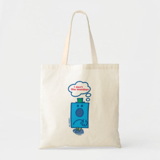 Mr Grumpy | I Don't Like Mondays Thought Bubble Tote Bag